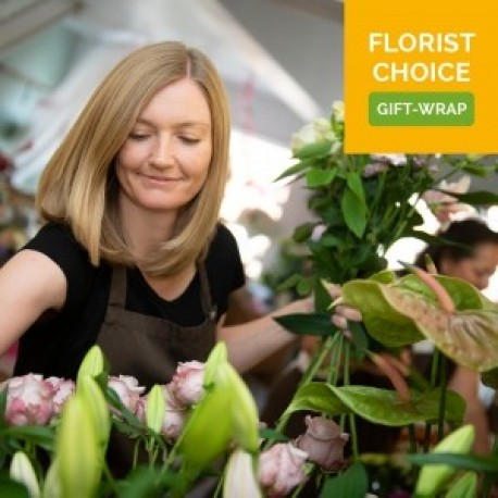 Florist Choice Gift-Wrapped Bouquet